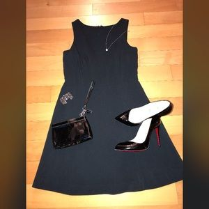 The Limited fit n flare Little Black Dress Sz 4
